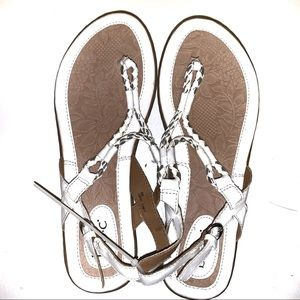 White and silver B.o.c Sandal